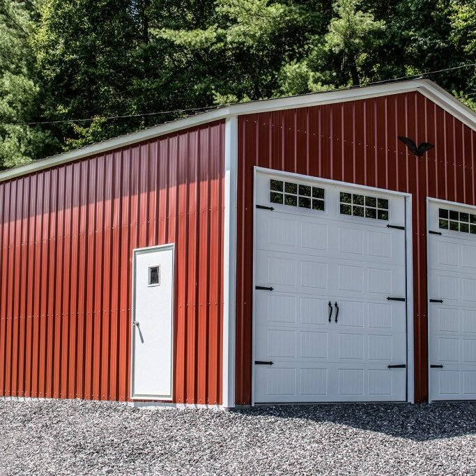 Eagle-Carports-24x35x12-All-vertical-Garage-1024x683