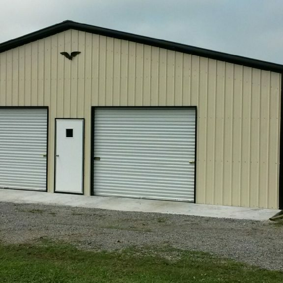 Eagle-Carports-Commercial-Grade-Garage-40x40x12-1024x576